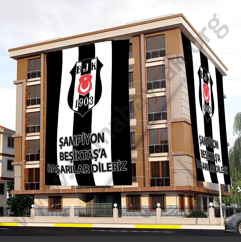 Beşiktaş Taraftar Bayrağı
