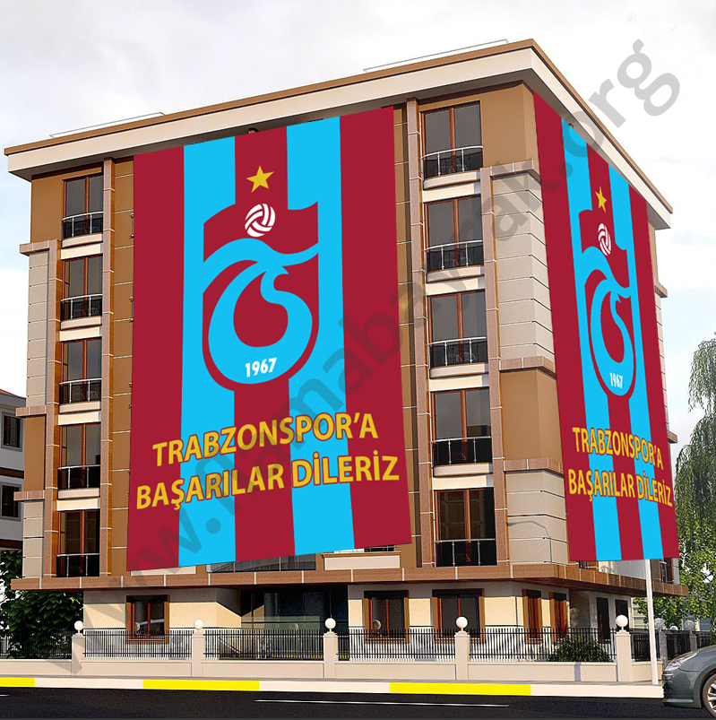 Trabzonspor Taraftar Bayrağı