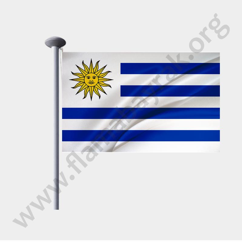 uruguay--gönder-bayragi